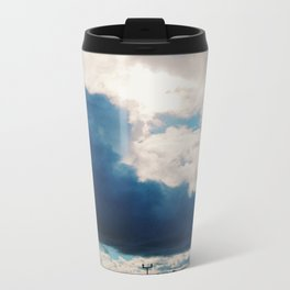 Clouds Metal Travel Mug