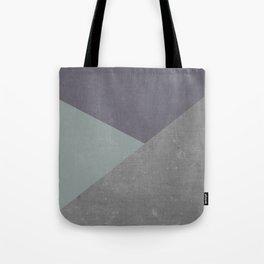 Concrete & Triangles Tote Bag