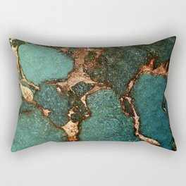EMERALD AND GOLD Rectangular Pillow