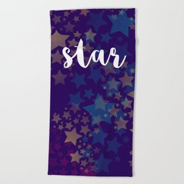 Be a star Beach Towel