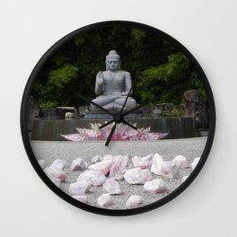 A Vision Of Inner Peace Wall Clock