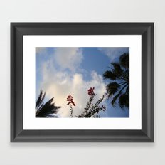 Look Up Sometimes Framed Art Print
