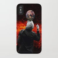 football iPhone & iPod Cases featuring Football by Cs025
