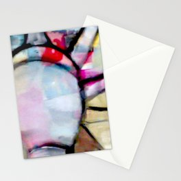 Statue of liberty Abstract - Women's rights, Freedom Stationery Cards