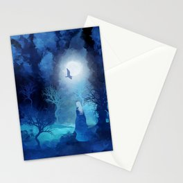 The Magician by Viviana Gonzales and Paul Kimble Stationery Cards