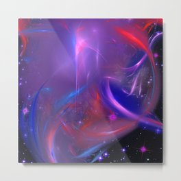 Cosmic Twister Metal Print