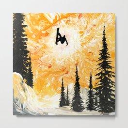 Fire Sky Metal Print
