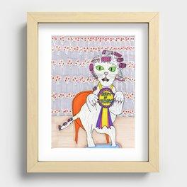 Winner Best in Show Recessed Framed Print