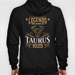 Birthday Gift Born As Taurus 1925 Hoody