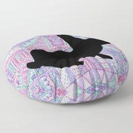 Rabbit Pattern Floor Pillow