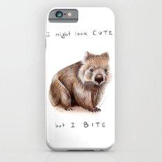 I might look cute, but I bite iPhone 6s Slim Case