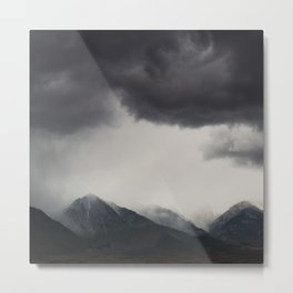 mountain storms  Metal Print