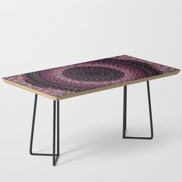 Rosewater Tapestry Mandala Coffee Table