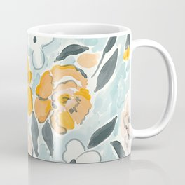 Watercolor Sketch Floral Coffee Mug