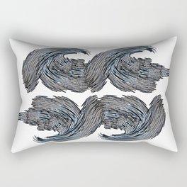 Craze Wave Rectangular Pillow