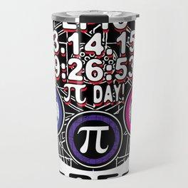 Ultimate Memorial for Epic Pi Day Symbols Travel Mug