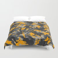 metal gear solid Duvet Covers featuring Metal Gear Rising Revengeance (V2) by ASHPLUS