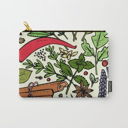 Spices of india - I love spices Carry-All Pouch