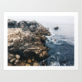 lovers point Art Print