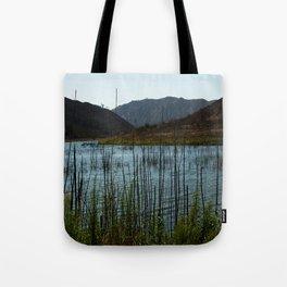Lake Hodges, CA Tote Bag
