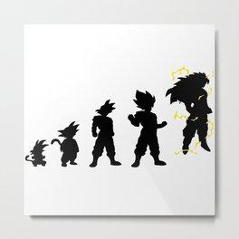 dragonballZ evolution Metal Print