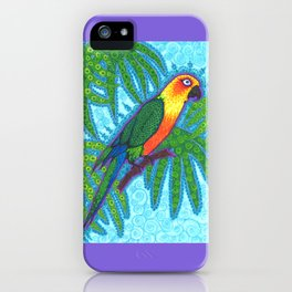 Ronnell's Parrot iPhone Case
