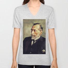 Joseph Conrad, Literary Legend Unisex V-Neck