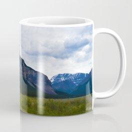 Tangle Ridge in the Columbia Icefields area of Jasper National Park, Canada Coffee Mug