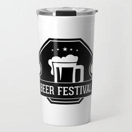 Beer Fisteval Travel Mug