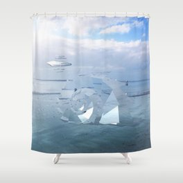 Intervention 31 Shower Curtain