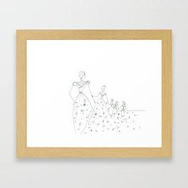 paper_6 Framed Art Print