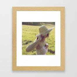 Sunscreen Framed Art Print