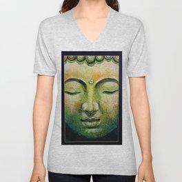 Lord Gautama Buddha Face Unisex V-Neck