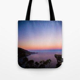 Sunset views Tote Bag