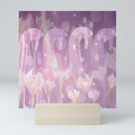 Fantasy Horses In Magical Forest #decor #buyart #society6 Mini Art Print
