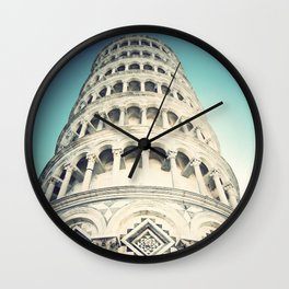 Leaning Tower 2, Pisa Wall Clock