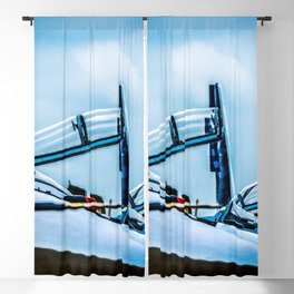 Raised Canopies Of Modern Fighter Aircrafts Blackout Curtain