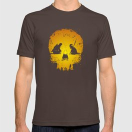 Fantasy skull - heroes in the forest T-shirt