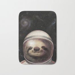 Space Sloth Bath Mat
