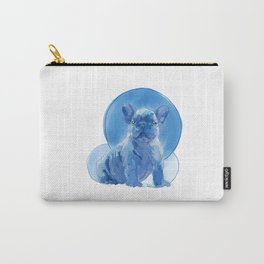 Monochromatic French Bulldog Carry-All Pouch