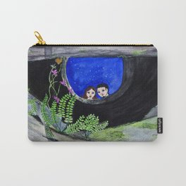 The Well of Wishes, an illustration by Ines Zgonc Carry-All Pouch