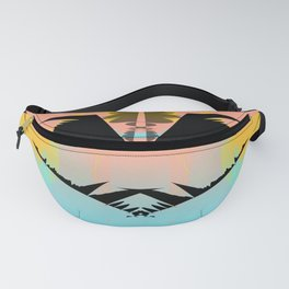 Dragonfly Silhouette Fanny Pack