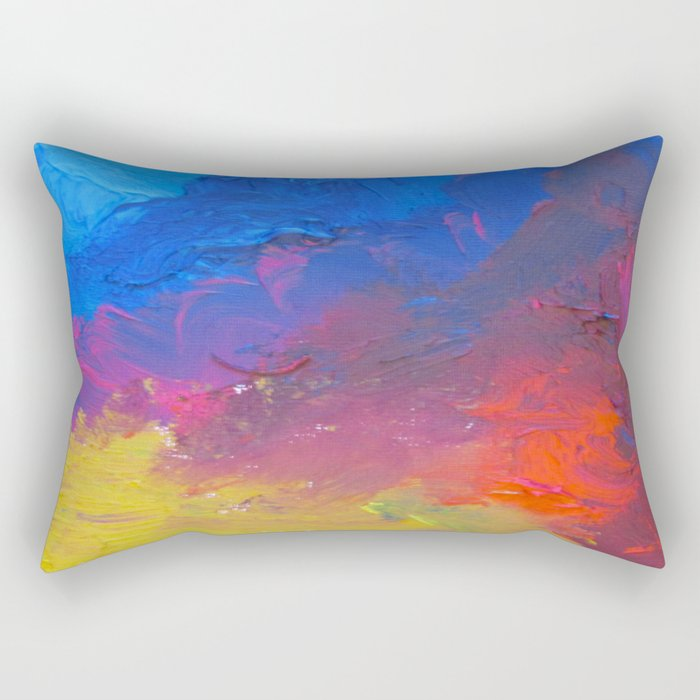 The Inquisitive Dreamer of Dreams Rectangular Pillow
