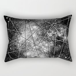 Fly Up to the Heavens (bnw) Rectangular Pillow