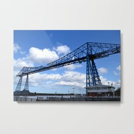 Middlesbrough Transporter Bridge Metal Print