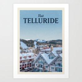 Visit Telluride Art Print