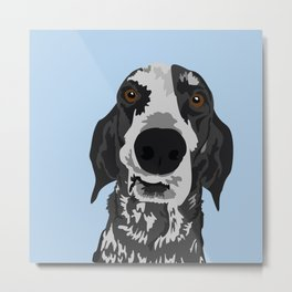 Reilly Head Metal Print