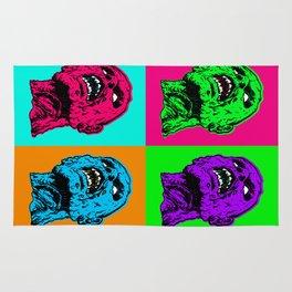 Pop art zombie Rug