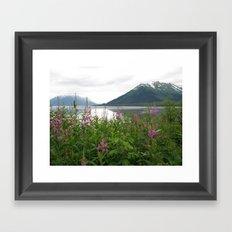 USA - ALASKA - View out Framed Art Print