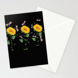 New Hampshire Paterson Sunflower hope love Gifts For Men Women Stationery Cards